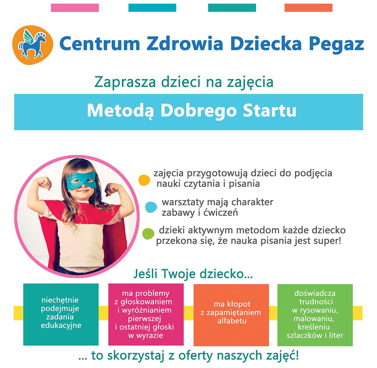 Metoda Dobrego Startu poradnia pegaz Gdańsk Gdynia Rumia Banino Słupsk